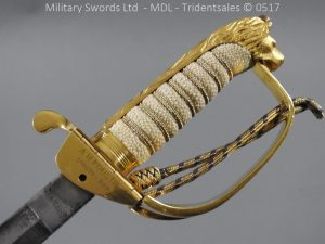 P12801 300x225 British ER 2 Officer's Naval Sword