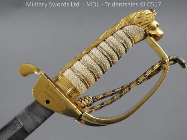 P12801 600x450 British ER 2 Officer's Naval Sword
