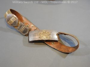 P12981 300x225 Victorian 19th Hussars Full Dress Cross Belt and Pouch