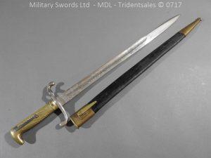 P14848 300x225 German Seitengewhr M1871 Regimental Bayonet