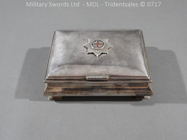 P14984 600x450 Coldstream Guards Officers Tobacco Box