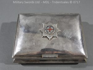 P14985 300x225 Coldstream Guards Officers Tobacco Box