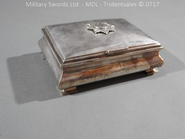 P14987 600x450 Coldstream Guards Officers Tobacco Box