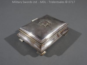 P14989 300x225 Coldstream Guards Officers Tobacco Box