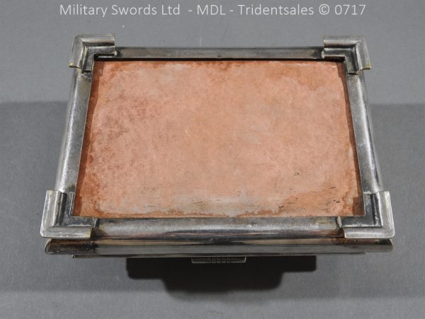 P14992 600x450 Coldstream Guards Officers Tobacco Box