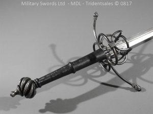P16067 300x225 German Hand and Half Broad Sword 20c