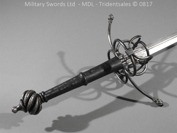 P16067 600x450 German Hand and Half Broad Sword 20c