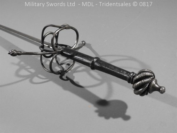 P16072 600x450 German Hand and Half Broad Sword 20c