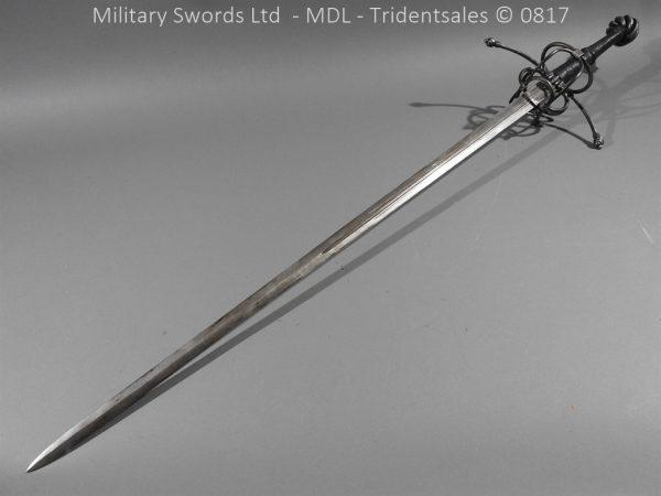 P16073 600x450 German Hand and Half Broad Sword 20c