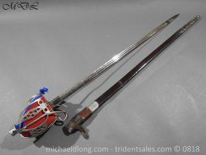 P53492 300x225 Royal Scots Guards Officer's Basket Hilt Sword