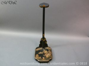 P53703 300x225 Japanese Black and Gold lacquer Sword Stand