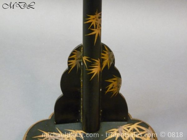 P53705 600x450 Japanese Black and Gold lacquer Sword Stand