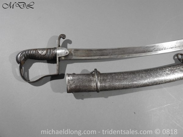 P53740 600x450 1796 Light Cavalry Troopers Sword by Gill