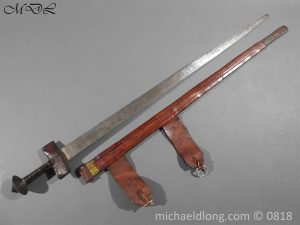 P54005 300x225 African Tuareg Sword and Scabbard