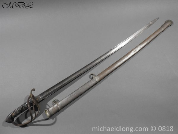 P54027 600x450 British Officers Artillery Sword by Wilkinson