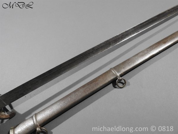 P54033 600x450 British Officers Artillery Sword by Wilkinson