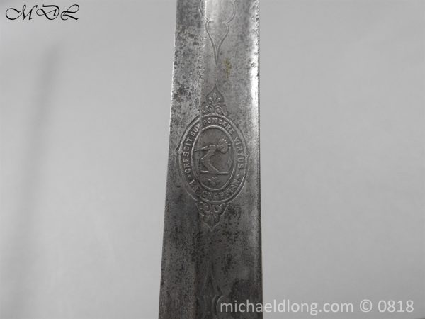 P54045 600x450 British Officers Artillery Sword by Wilkinson