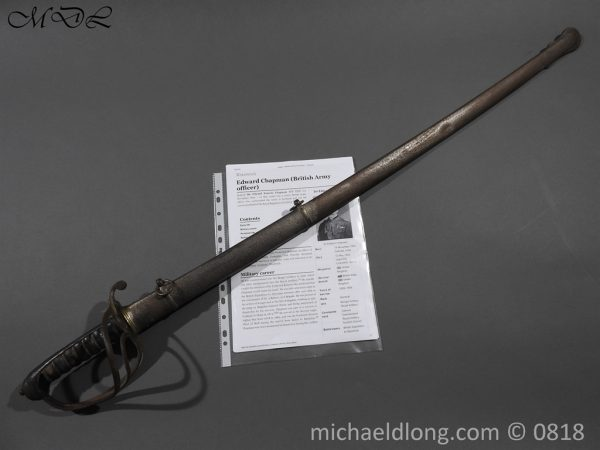 P54060 600x450 British Officers Artillery Sword by Wilkinson