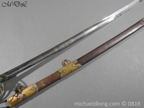 P54063 600x450 British 1822 Officers Sword by Wilkinson Maj G Balfour