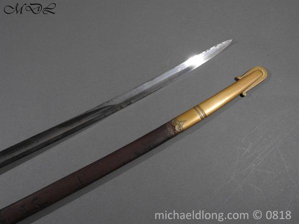 P54064 600x450 British 1822 Officers Sword by Wilkinson Maj G Balfour