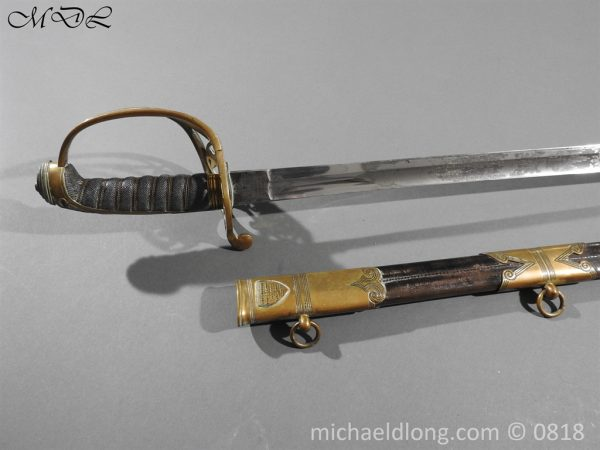 P54066 600x450 British 1822 Officers Sword by Wilkinson Maj G Balfour
