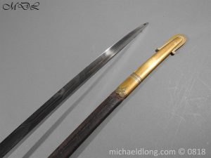 P54068 300x225 British 1822 Officers Sword by Wilkinson Maj G Balfour