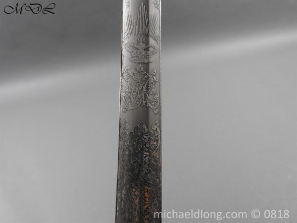 P54074 600x450 British 1822 Officers Sword by Wilkinson Maj G Balfour