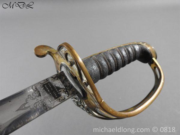 P54082 600x450 British 1822 Officers Sword by Wilkinson Maj G Balfour