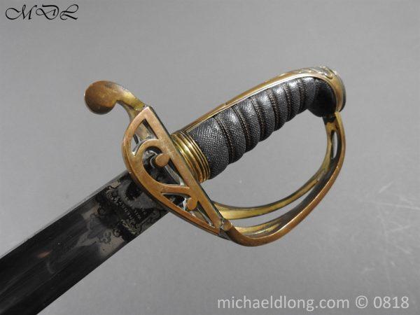 P54083 600x450 British 1822 Officers Sword by Wilkinson Maj G Balfour