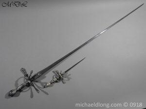 P54839 300x225 Rapier Ensuite Left Hand Dagger by Christian Leygebe c 1650
