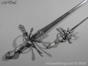 P54840 300x225 Rapier Ensuite Left Hand Dagger by Christian Leygebe c 1650