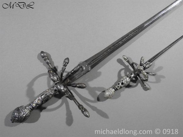 P54840 600x450 Rapier Ensuite Left Hand Dagger by Christian Leygebe c 1650