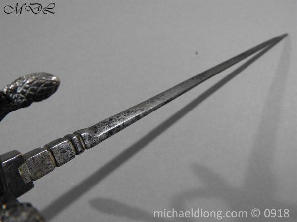 P54848 600x450 Rapier Ensuite Left Hand Dagger by Christian Leygebe c 1650