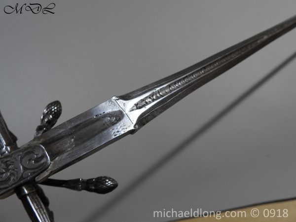 P54867 600x450 Rapier Ensuite Left Hand Dagger by Christian Leygebe c 1650