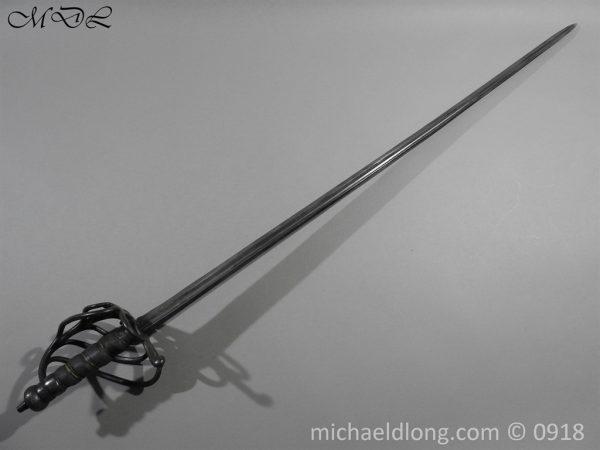 P54930 600x450 Horse Grenadier Guards Troopers Sword c 1780