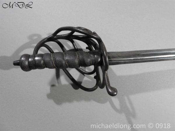 P54931 600x450 Horse Grenadier Guards Troopers Sword c 1780