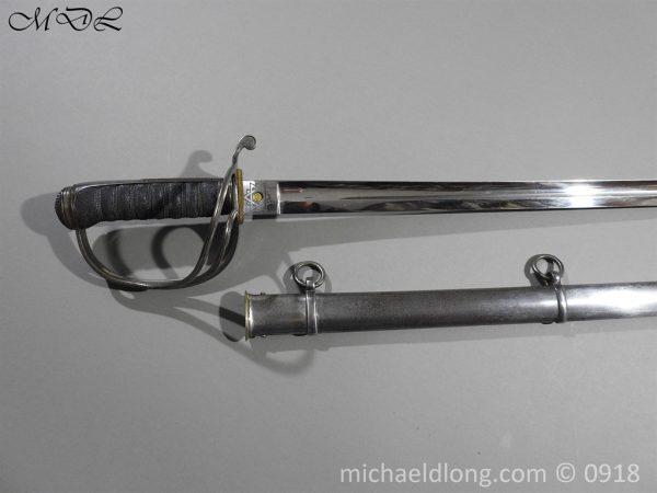 P55083 600x450 Britsh 1821 Cavalry Officer's Sword By Wilkinson