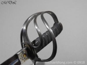 P55101 300x225 Britsh 1821 Cavalry Officer's Sword By Wilkinson