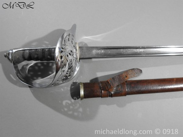 P55196 600x450 British WW2 Intantry Officer's Sword by Wilkinson