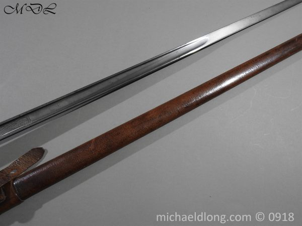 P55197 600x450 British WW2 Intantry Officer's Sword by Wilkinson