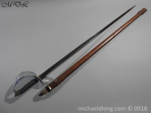 P55199 300x225 British WW2 Intantry Officer's Sword by Wilkinson