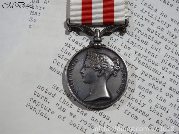 P55823 600x450 1st Bn Bengal Indian Mutiny Medal