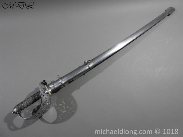 P55853 600x450 British Household Cavalry Troopers Sword
