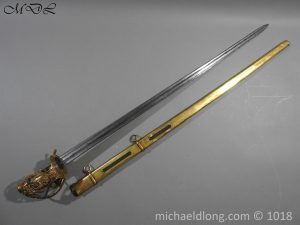 P56040 300x225 Household Cavalry Dress Sword Patern 1814