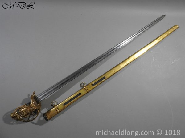 P56040 600x450 Household Cavalry Dress Sword Patern 1814
