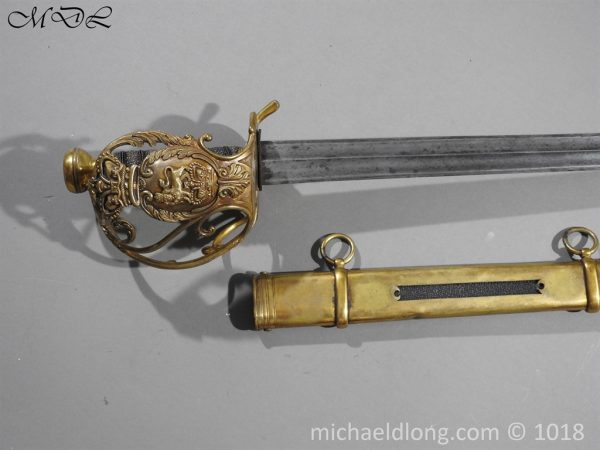 P56041 600x450 Household Cavalry Dress Sword Patern 1814