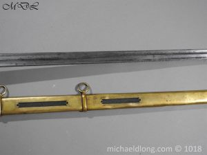 P56042 300x225 Household Cavalry Dress Sword Patern 1814