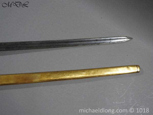 P56043 600x450 Household Cavalry Dress Sword Patern 1814