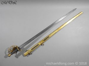 P56044 300x225 Household Cavalry Dress Sword Patern 1814