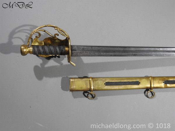 P56045 600x450 Household Cavalry Dress Sword Patern 1814